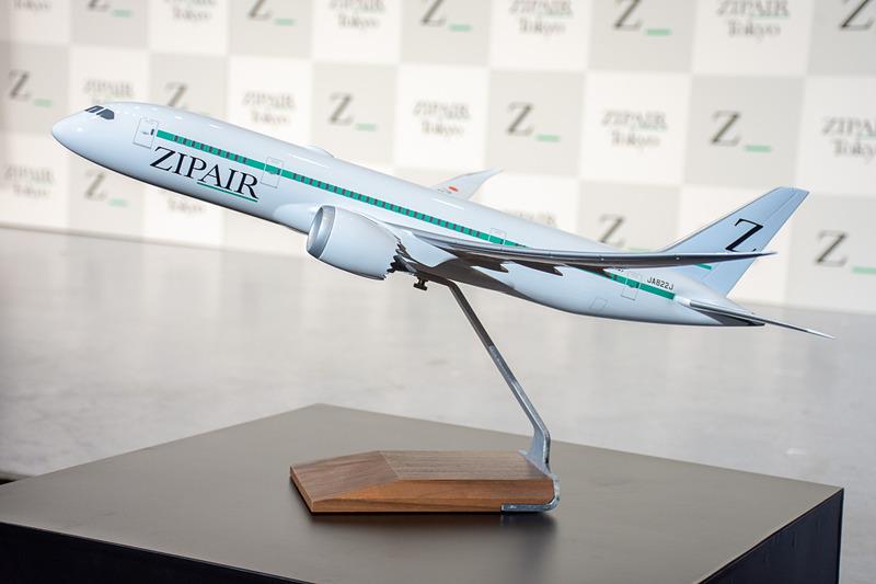 ZIPAIR Tokyoのボーイング 787-8型機