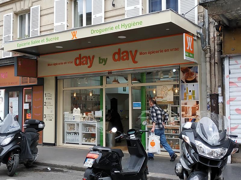 パリ17区の「day by day」