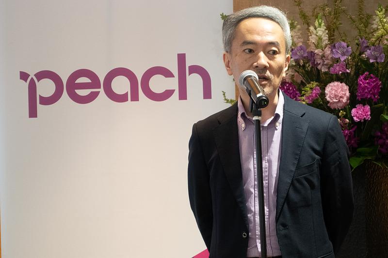Peach Aviation株式会社 執行役員 経営企画室長 遠藤哲氏