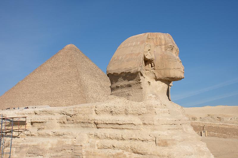 ギザの3大ピラミッドを見てきました