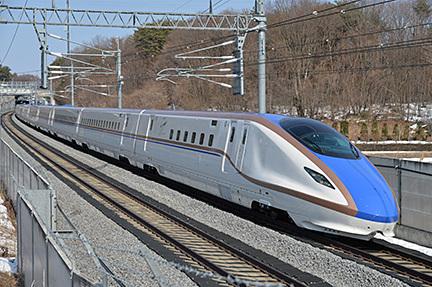 JR東日本は上越新幹線の大宮駅~新潟駅間の運行最高速度を240km/hから275km/hに向上させる
