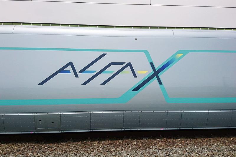 ALFA-Xのロゴ