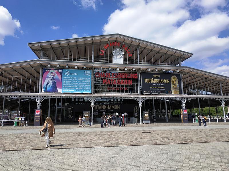 Grande Halle de la Villette(ラ・ヴィレット大ホール)