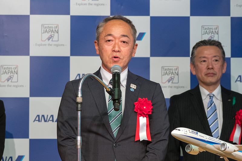 岐阜県 商工労働部 国際観光局 副局長 尾関新太郎氏