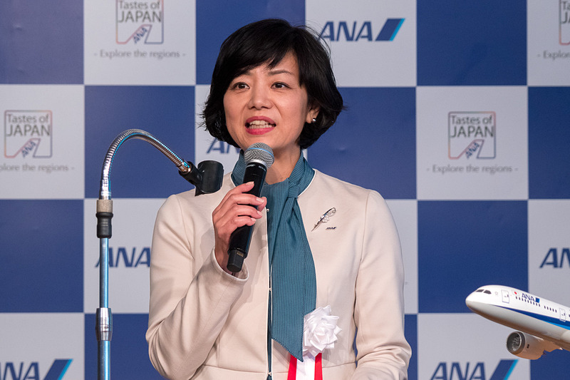 全日本空輸株式会社 執行役員 中部支社長 矢澤潤子氏