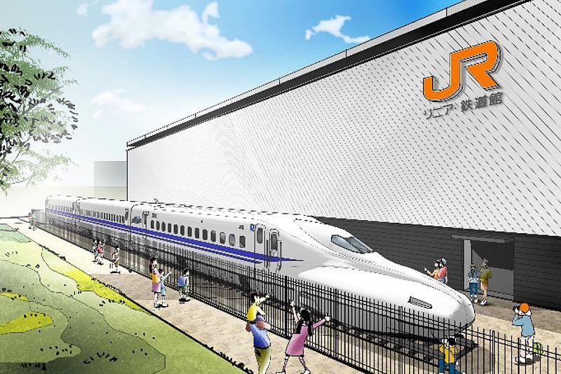 「リニア・鉄道館」で「N700系量産先行試作車」3両の展示を開始