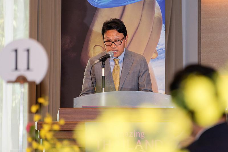 タイ国政府観光庁 マーケティング・コミュニケーション担当副総裁 タネース・ぺッスワン氏