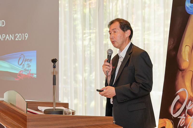 タイ国政府観光庁 東京事務所 マーケティングマネージャー 藤村喜章氏