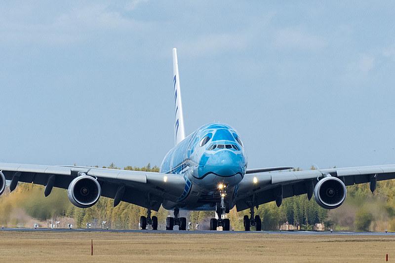成田空港へは3月21日に到着