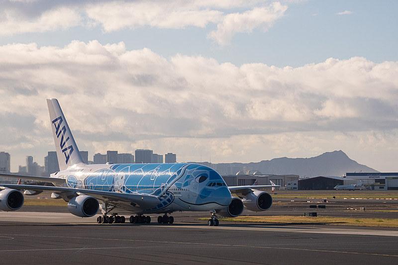 適合検査や旅客運航のオペレーション確認のためにホノルルへも訓練飛行