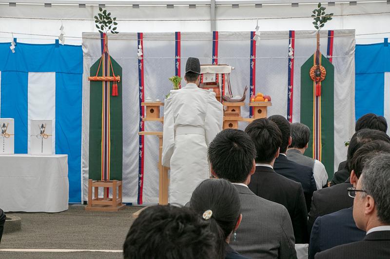 「OMO7 大阪新今宮」の起工式を執り行なった