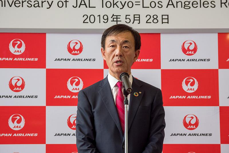 日本航空株式会社 常務執行役員 大貫哲也氏