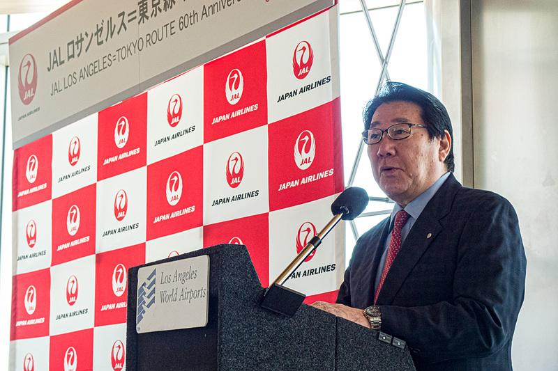 日本航空株式会社 代表取締役会長 植木義晴氏