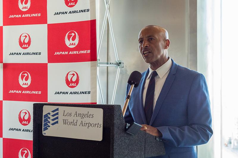 Los Angeles World Airports COO サムソン・ミンゲス(Samson Mengistu)氏