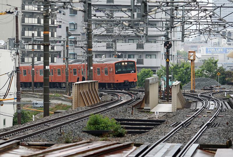 最終運行は、大阪環状線(外回り)桜島10時55分発、京橋11時19分着