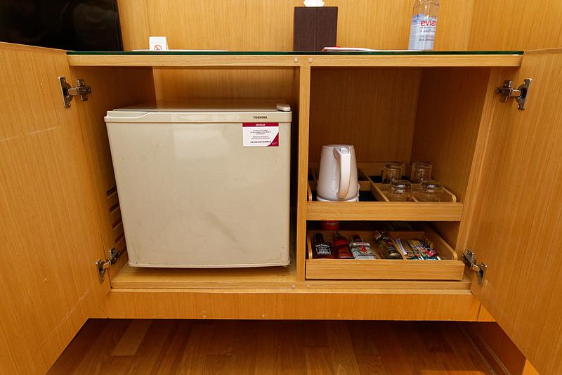 小型冷蔵庫もあり
