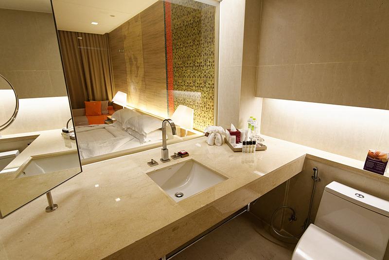 バスルーム。こちらにも湯船