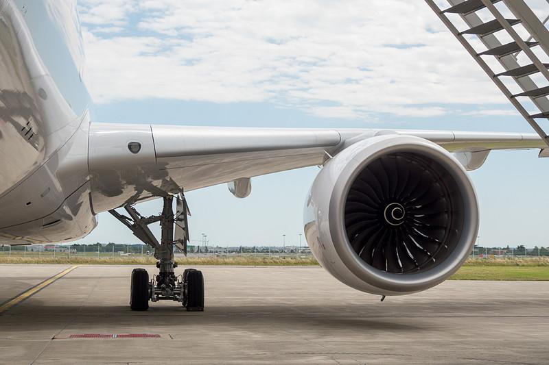 エンジン。ロールスロイスの「Trent XWB」