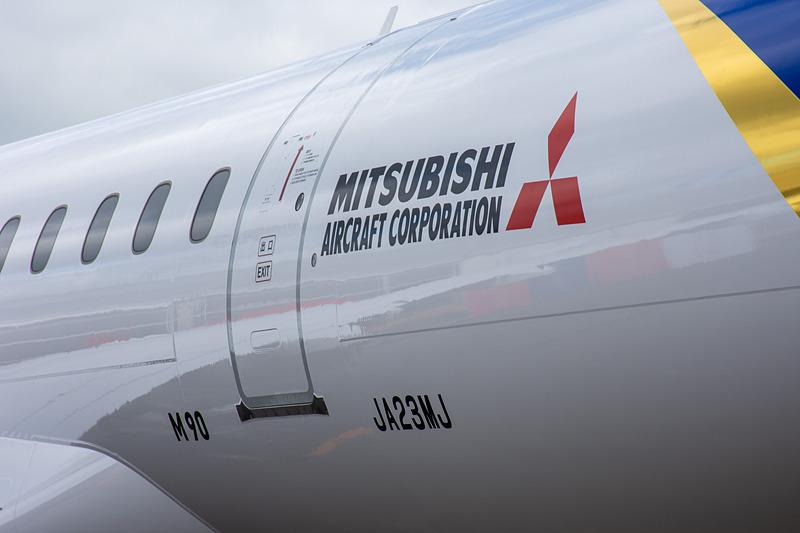 登録記号「JA23MJ」で3号機であることが分かる