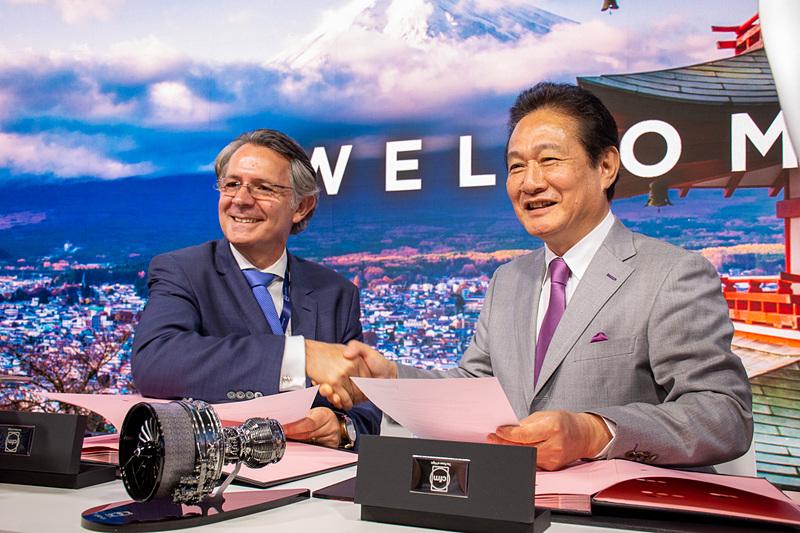 ピーチはエアバス A320neo型機/A321LR型のエンジンにCFM International「LEAP-1A」を選定、契約締結式を行なった