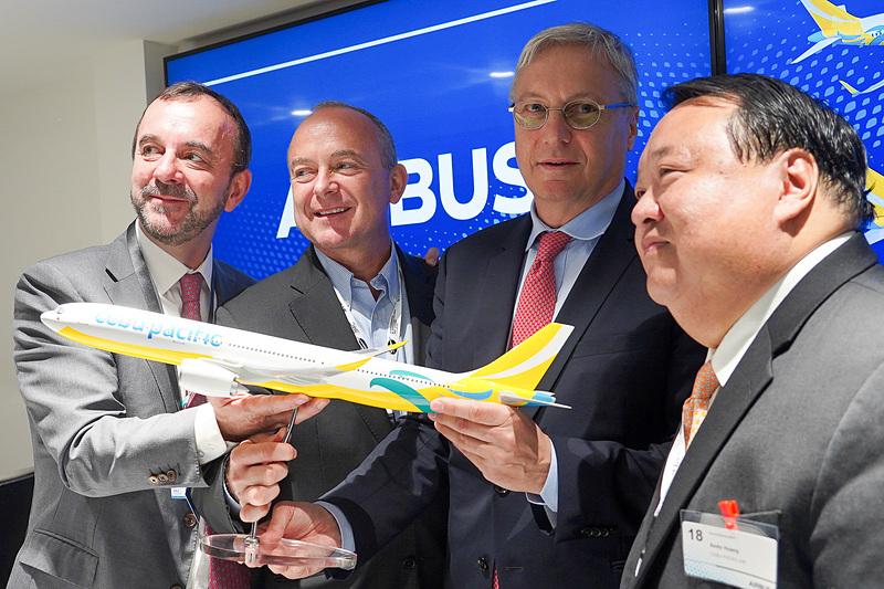 セブ・パシフィック航空が31機のエアバスの航空機の購入契約を締結