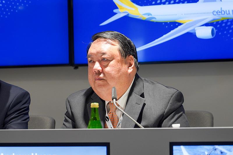 セブ・パシフィック航空 CFO(Chief Financial Officer、最高財務責任者)アンドリュー・フアン氏