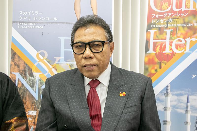 セランゴール州観光文化大臣 アブドゥル・ラシド氏