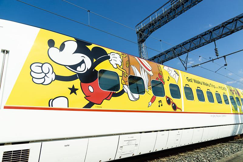 第1弾デザインの「JR九州 Waku Waku Trip 新幹線」