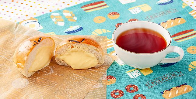クリームパンセット(紅茶セット)
