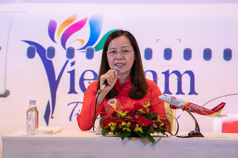 ベトジェットエア 副社長 グエン・ティ・トゥイ・ビン(Nguyen Thi Thuy Binh)氏