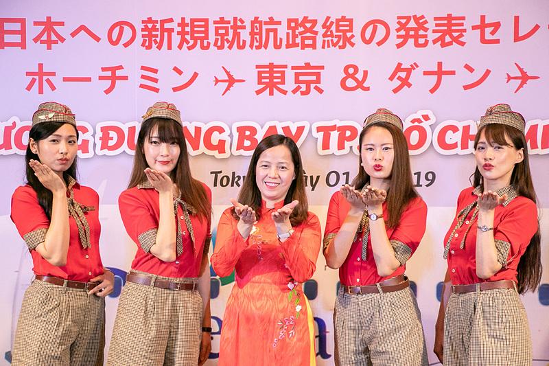 ベトジェットエアは成田~ホーチミン線/羽田~ダナン線就航の就航を発表した
