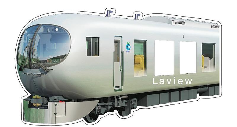 001系Laviewステッカー