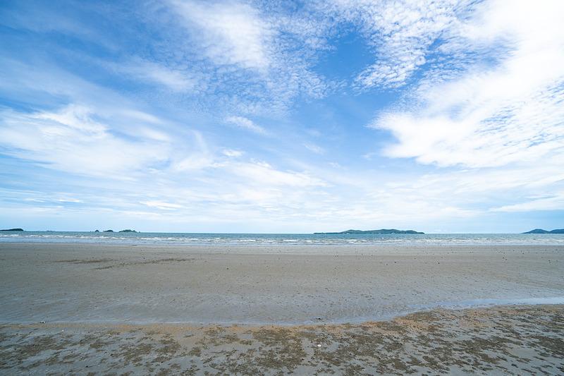 ここからもサメット島など、小さな島々が見渡せる