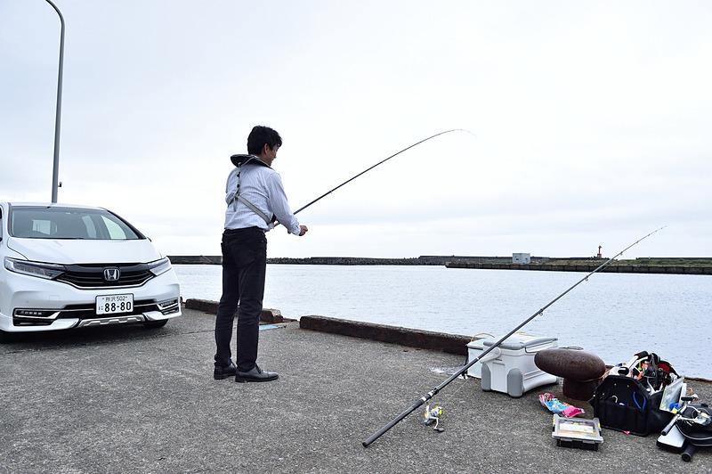 ちょい!と気軽に仕掛けを投げるから「ちょい投げ釣り」。道具も時間も場所も手軽なのが魅力