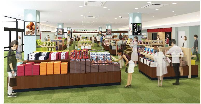 ショッピングコーナーのイメージ