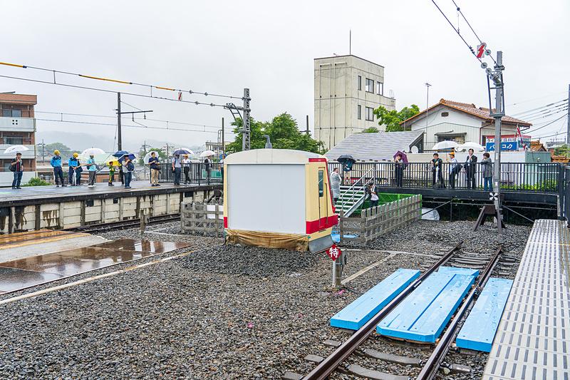 「西武ちちプラレール駅」は西武秩父駅のホームの一番奥に作られました