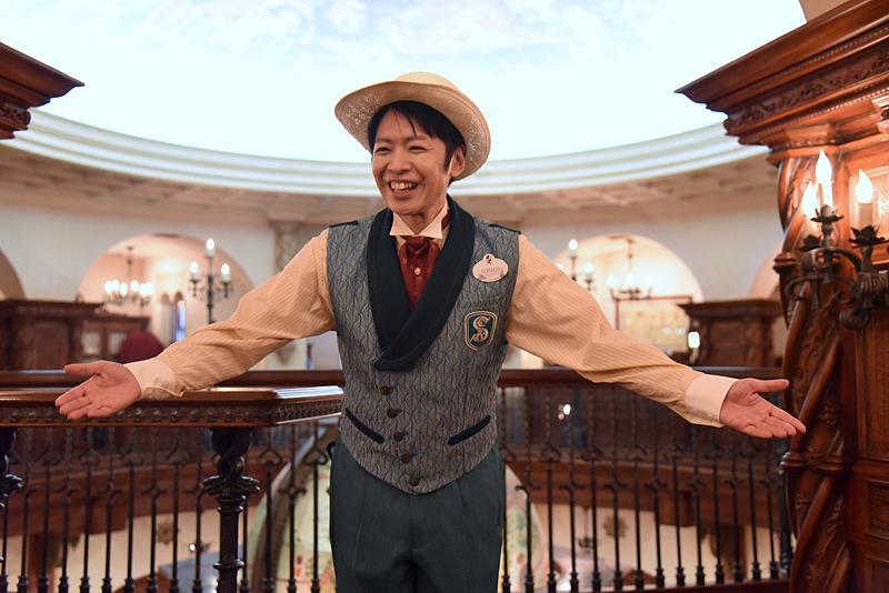 「S.E.A.」の広報官・空田飛造氏が博物館内を案内してくれることになった