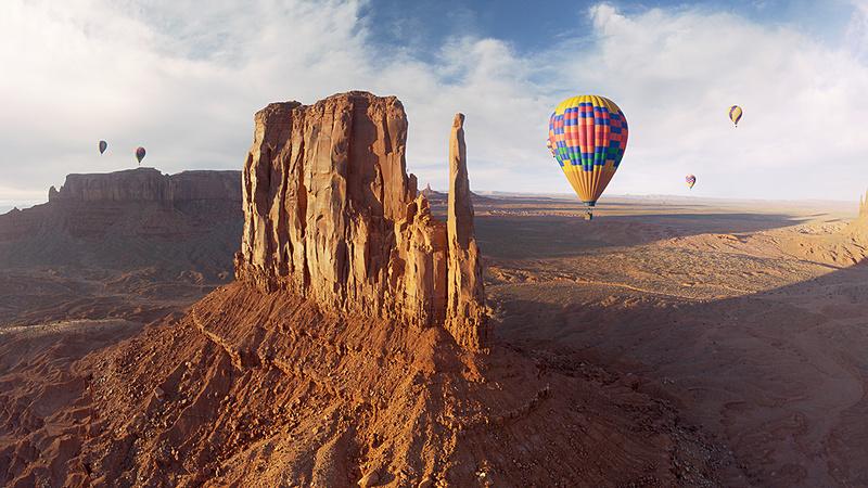 まるで鳥のように、世界の絶景を眺めながらファンタスティックなフライトが楽しめる (画像提供:オリエンタルランド)