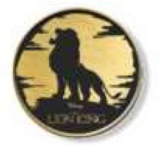 スタンプラリー達成賞「ライオン・キング」ピンバッジ