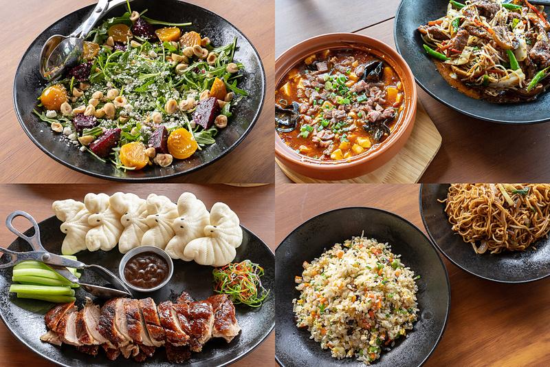 伝統的な中華料理のなかにも、はやりの食のエッセンスを加えているという「Bado Chinese」のメニュー