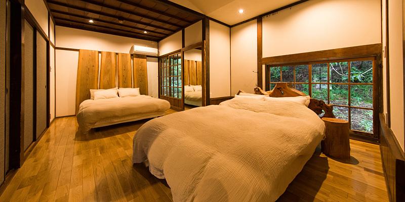 星岳 寝室