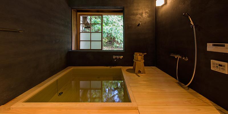 星岳 ひのき風呂
