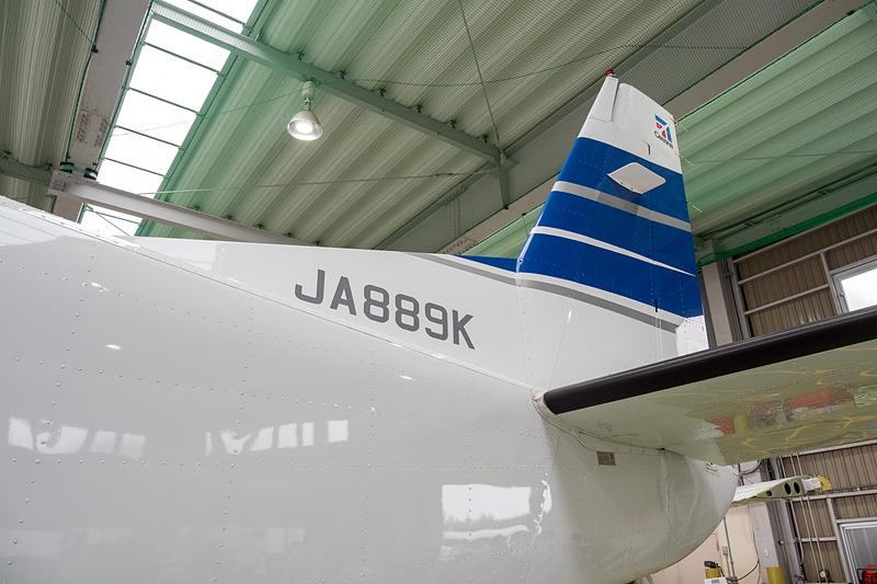 登録記号「JA889K」の機体を使用