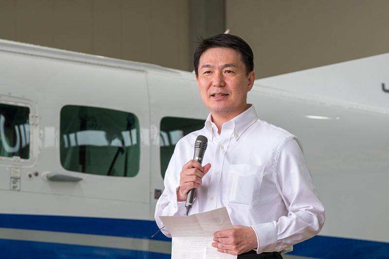 国土交通省 国土地理院 測地部長 大木章一氏