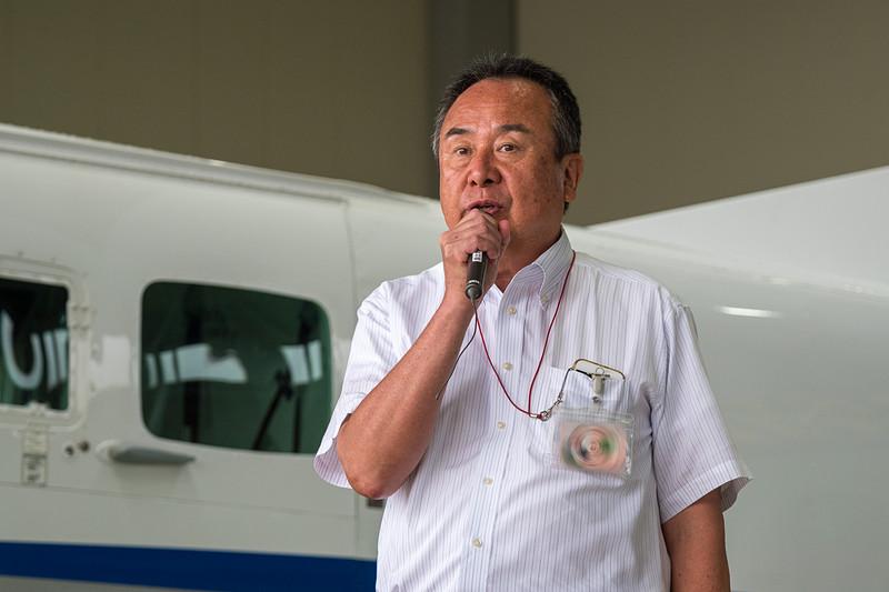 共立航空撮影株式会社 代表取締役社長 平武俊氏