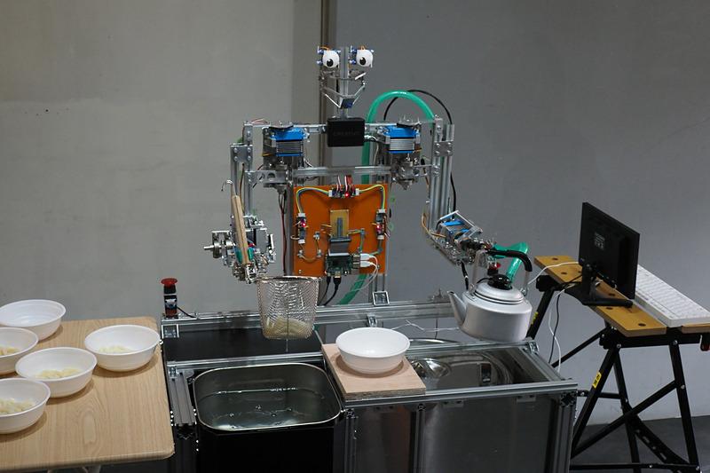 【tk 09】「うどん湯切りロボット」石原秀則