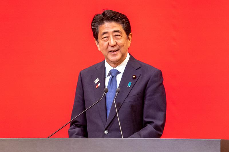 内閣総理大臣 安倍晋三氏