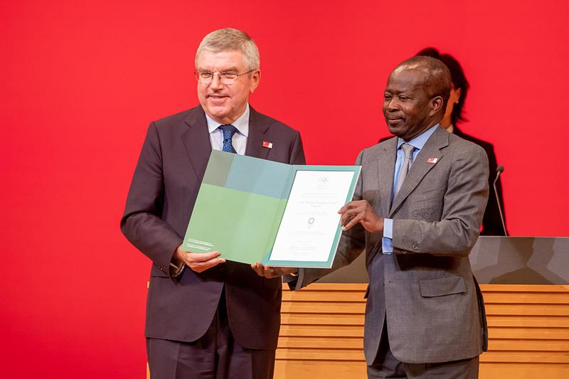 セネガル オリンピック委員会会長 ママドゥ・D・ンジャイ氏