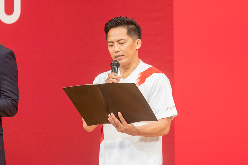 柔道60kg級の金メダリストである野村忠宏さん