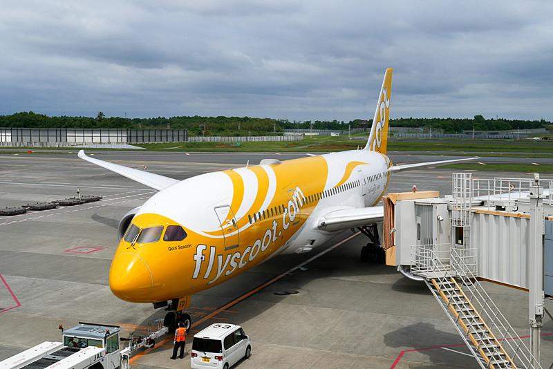 スクートはシンガポール・チャンギ国際空港の発着ターミナルをターミナル1に変更する